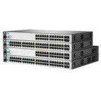 HPE 2530-48 Managed L2 Switch - 48 x 10/100 + 2 x Gigabit SFP + 2 x 10/100/1000