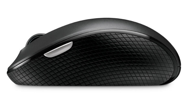 Microsoft Black Wireless Mobile Mouse 4000 - Bluetrack 2.4Ghz - USB