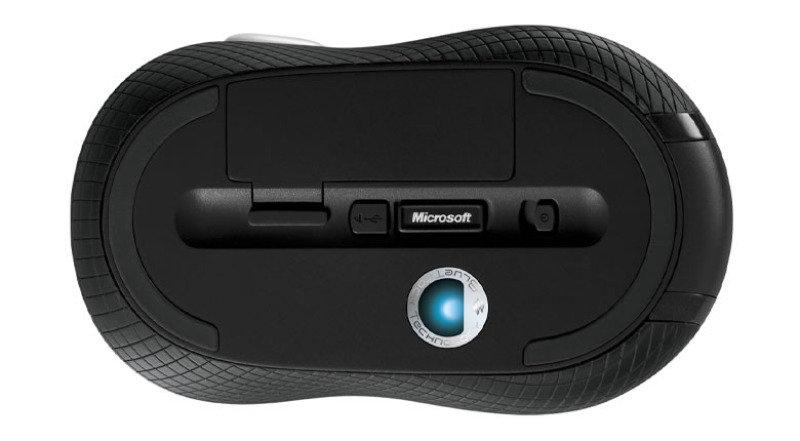 3757981bafd Microsoft Black Wireless Mobile Mouse 4000 - Bluetrack 2.4Ghz - USB ...