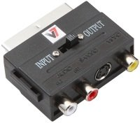 V7 Audio/Video Adaptor - Black