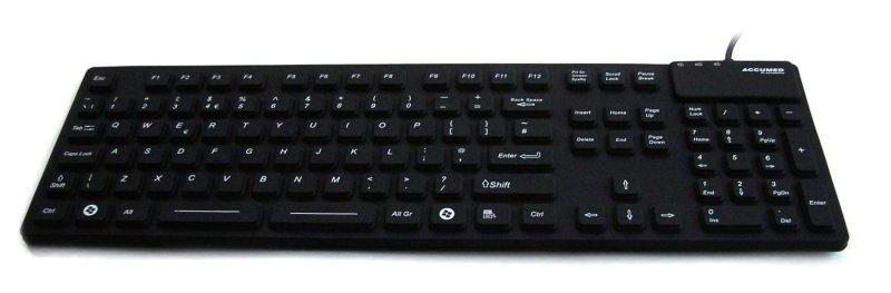 Accuratus NanoArmour Keyboard with Combo Black