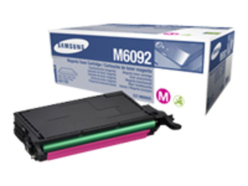 Samsung	CLT-M6092S Magenta Original Toner Cartridge - Standard Yield 7000 Pages - SU348A