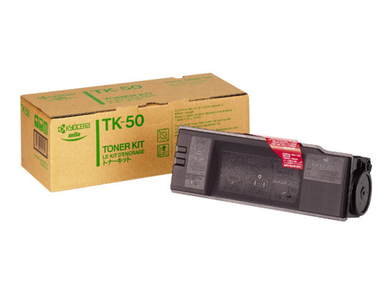 Kyocera Black Toner Cartridge High Capacity TK-50H