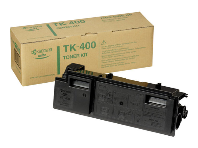 Kyocera TK-400 Black Toner Cartridge (10,000 Page Capacity)