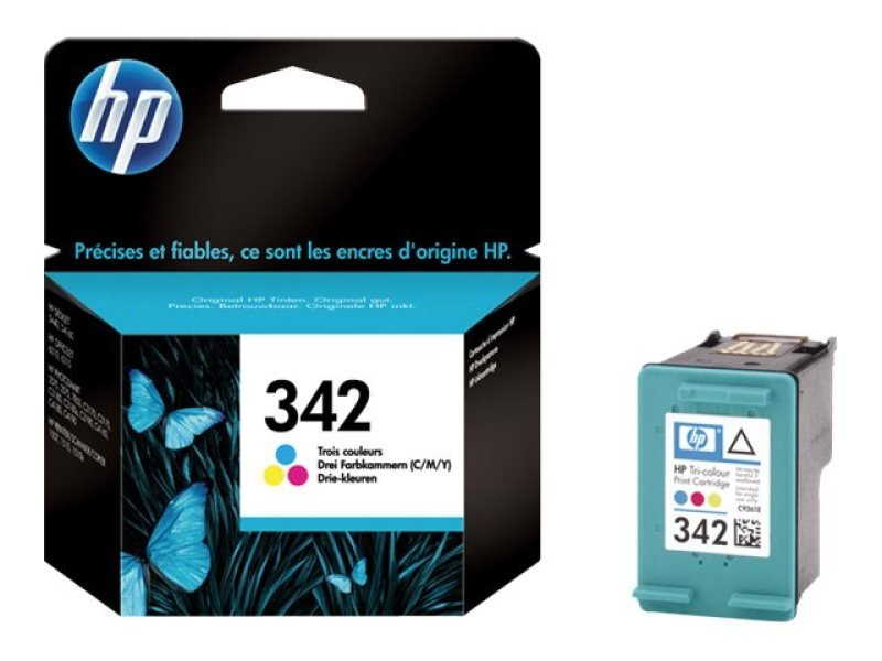HP 342 Cyan/Magenta/Yellow Inkjet Cartridge