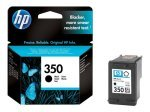 *HP 350 Black Ink Cartridge - CB335EE