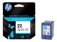 HP 22 Colour Ink Cartridge - C9352AE