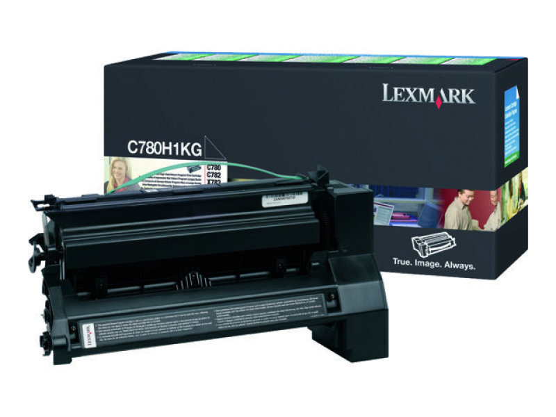 TONER CARTRIDGE BLACK 10K - F/ C780 SERIE X782E