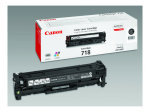 Canon CRG-718 Black Dual Pack Toner Cartridge