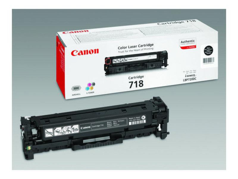 Canon CRG718 Black Dual Pack Toner Cartridge