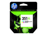 HP 351XL Colour Ink Cartridges - CB338EE