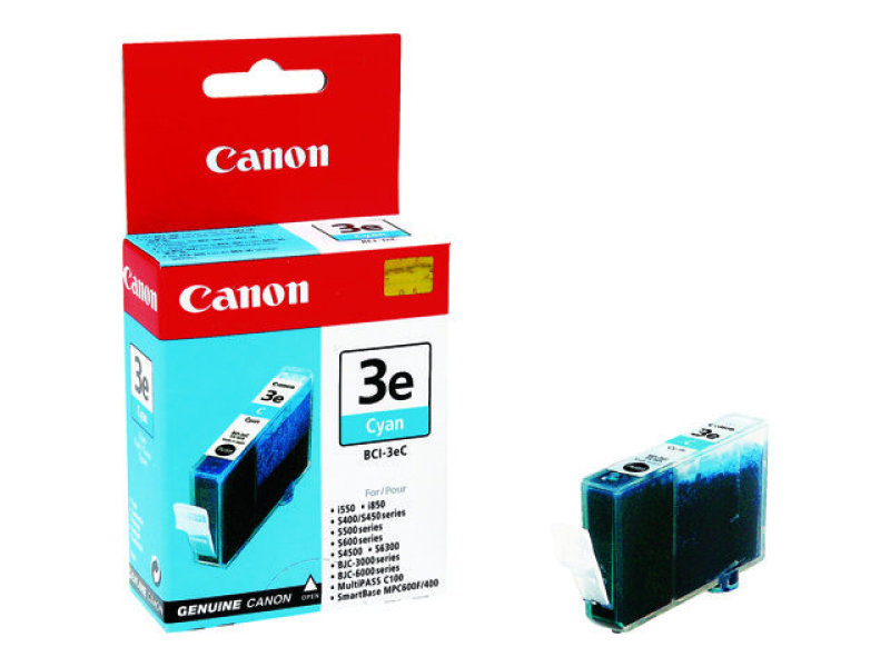 Canon BCI 3EC - Ink tank - 1 x cyan - 390 pages
