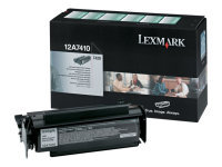 Lexmark 12A7415 Black Toner Optra T420 Series - 10K pages