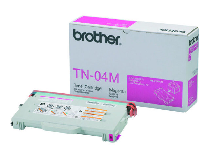 Brother TN04M Magenta Toner Cartridge 6600 Pages