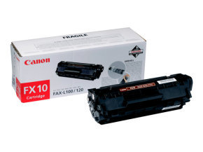 Canon Fax Toner Cartridge Fx-10 Black