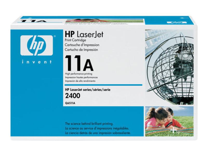 HP 11A Black Toner Cartridge - Q6511A