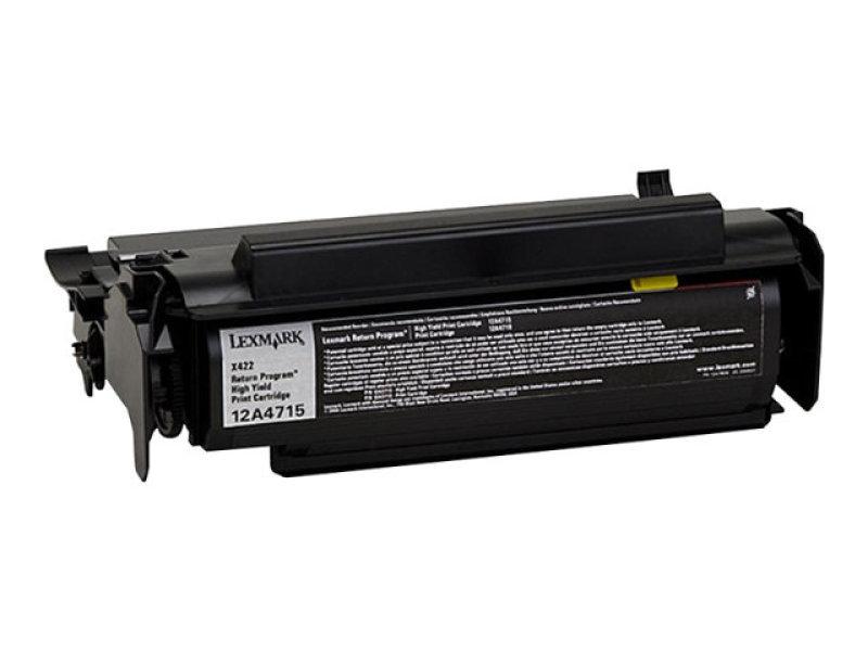 Lexmark Toner Black Prebate - For T420 12.000 Pages