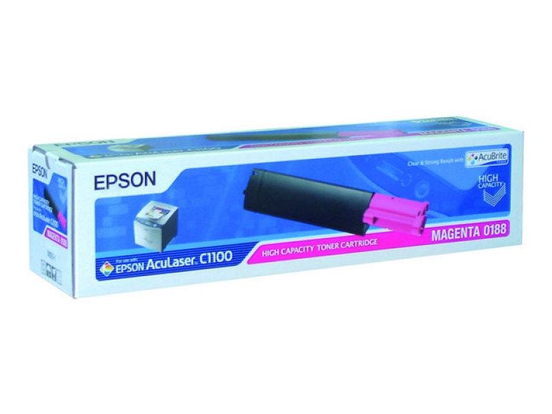Epson Magenta Toner High Capacity - C1100