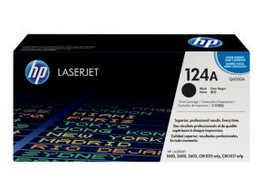 HP 124A Black Toner Cartridge - Q6000A