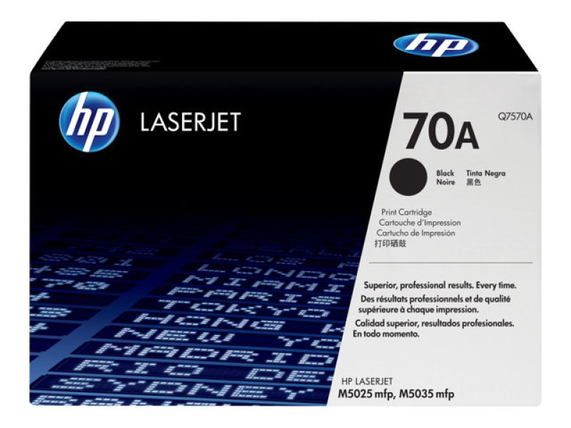 *HP 70A Black Toner Cartridge 15,000 Pages - Q7570A