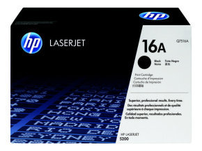HP 16A Black Toner Cartridge - Q7516A
