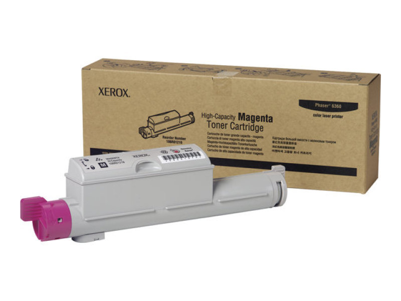 Xerox 106R01219 High Yield Magenta Toner Cartridge 12,000 Pages