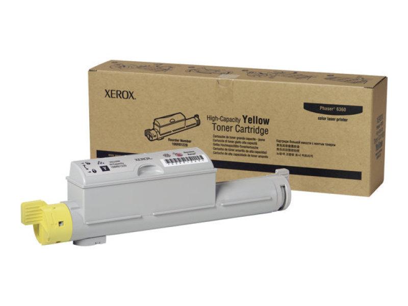 Hi-cap Yellow Toner Cart Phaser 6360