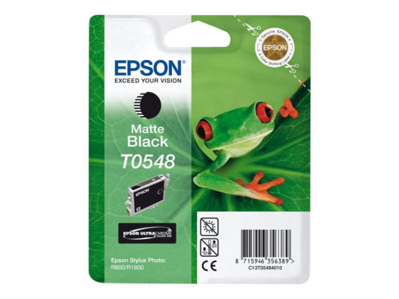 *Epson T0548 Pigmented Matte Black Ink Cartridge