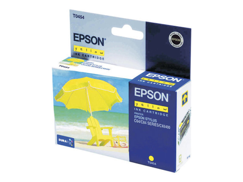 Epson Ink Cartridge Yellow - F/ Stylus C64/c66/c84/c86/cx6x00 Ns