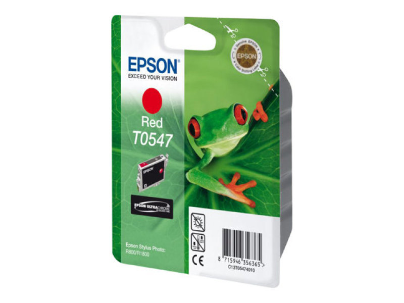 Epson T0547 Red Print cartridge