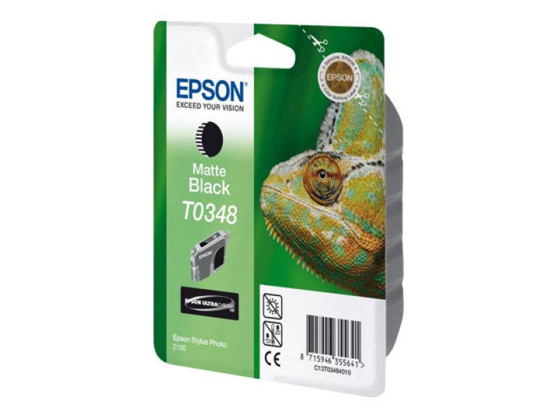 Epson T0348 - Print cartridge - 1 x pigmented matte black - 440 pages