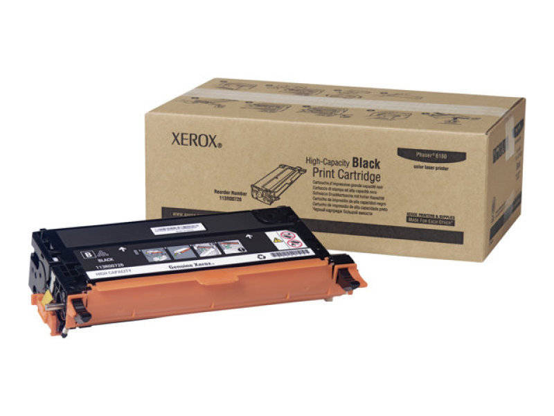 Xerox Phaser 6180 Black High Capacity Toner Cartridge