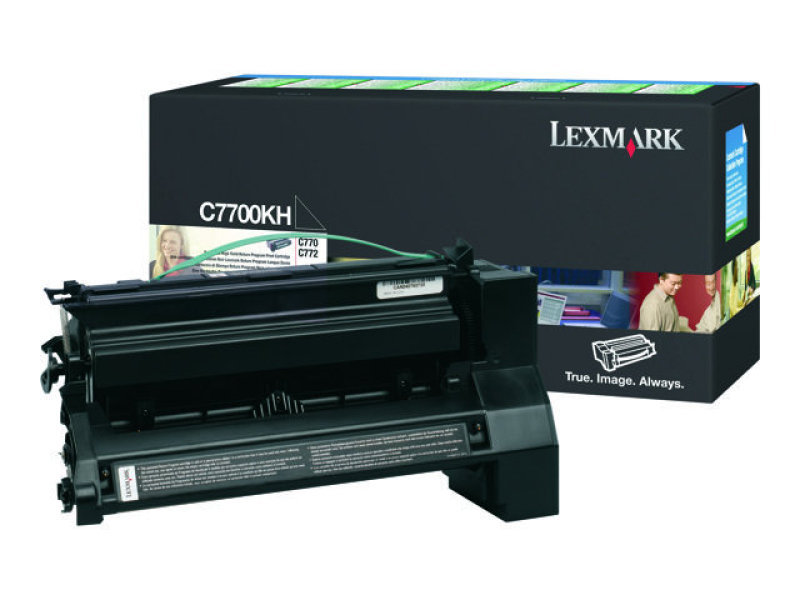Lexmark - Toner cartridge - High Yield - 1 x black - 10000 pages - LRP / LCCP