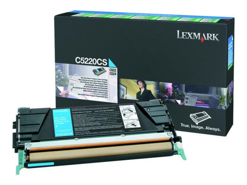 Lexmark Toner cartridge 1 x cyan- 3000 pages