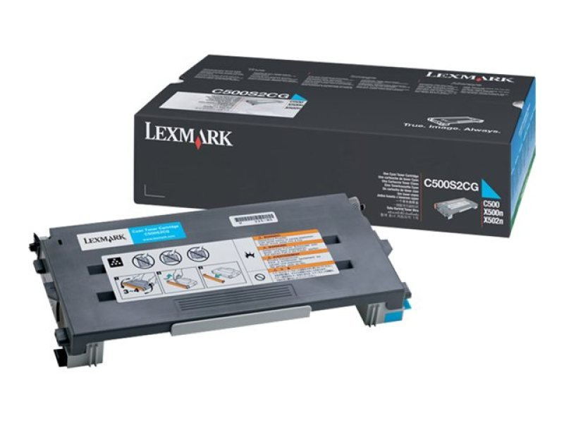 Lexmark C500 Cyan Toner Cartridge