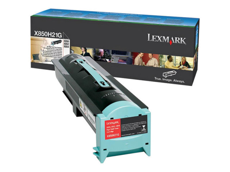 Lexmark X850H21G Black Toner Cartridge