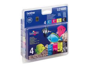 Brother LC1000 Colour Value Pack