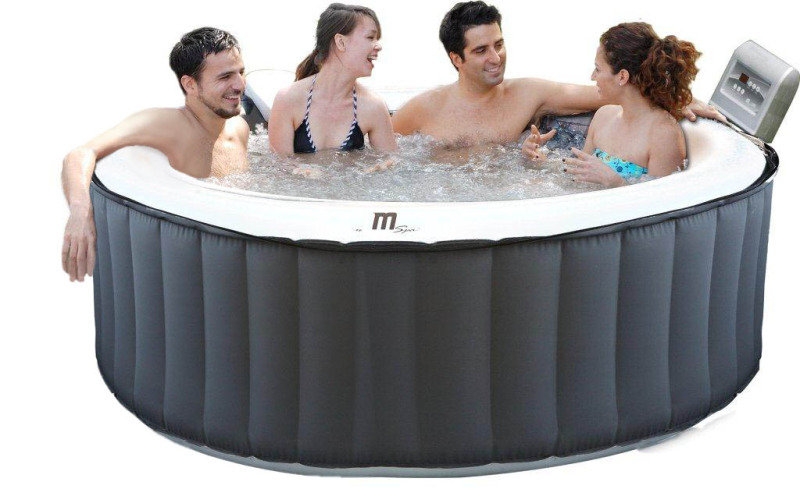 Mspa M 011ls Inflatable Hot Tub Spa Outdoor At Ebuyer