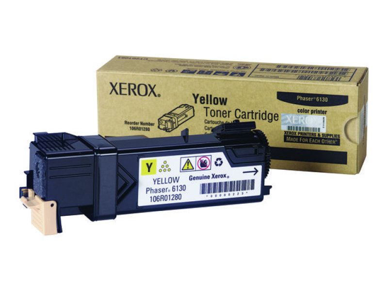 Yellow Toner (1k) - For Phaser 6130