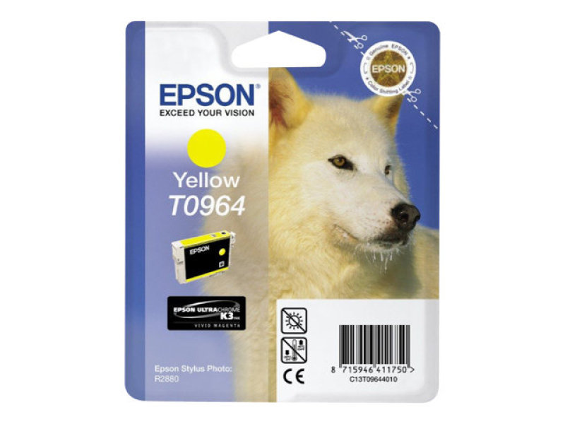 Epson T0964 11.4ml Yellow Ink Cartridge