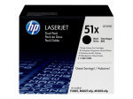 HP 51X Black Dual Pack Toner Cartridge