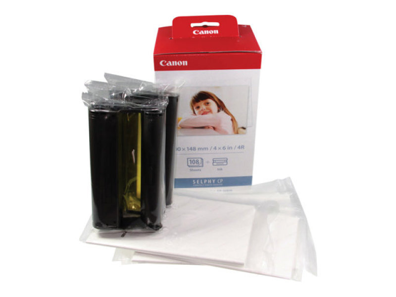 Canon KP 108IN Colour Ink Cartridge and Paper Kit