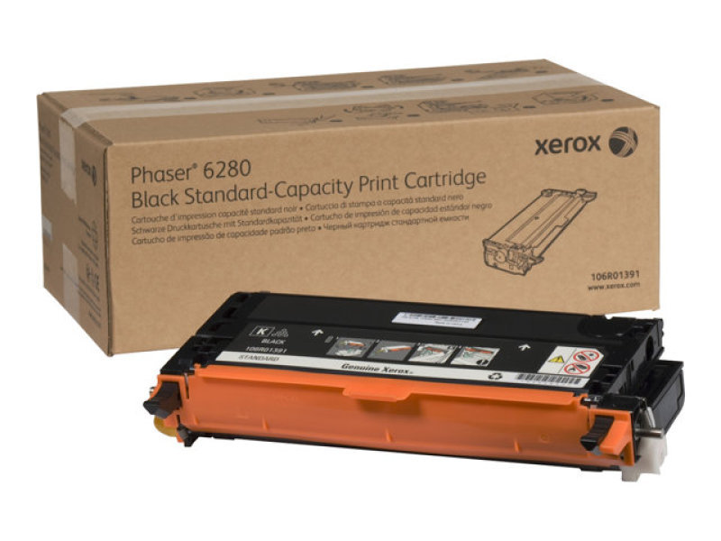 *Xerox 6280 Black Toner cartridge