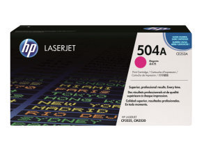 HP 504A Magenta Toner Cartridge - CE253A