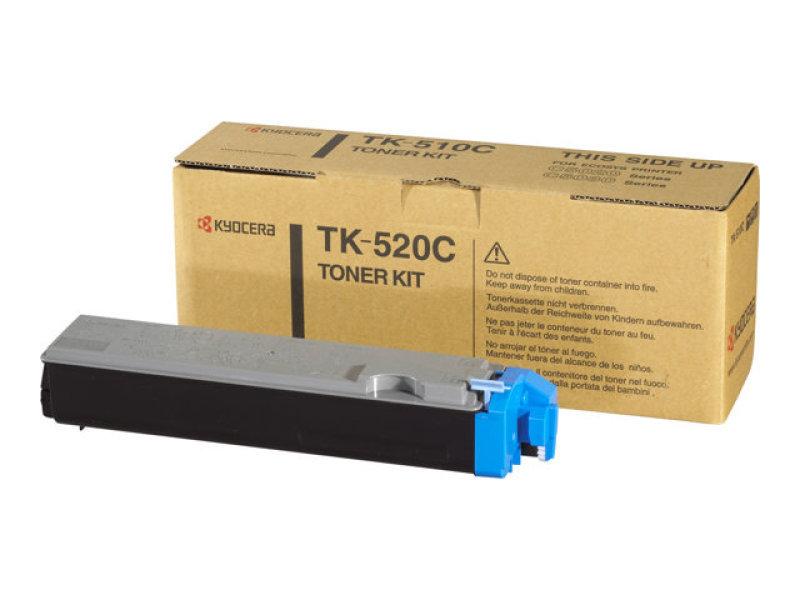 Kyocera TK-520C Cyan Toner Cartridge