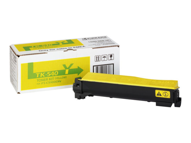Kyocera Fs-c5100dn Yellow Laser Toner Cartridge