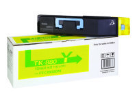 Kyocera TK-880Y Yellow Laser Toner Cartridge