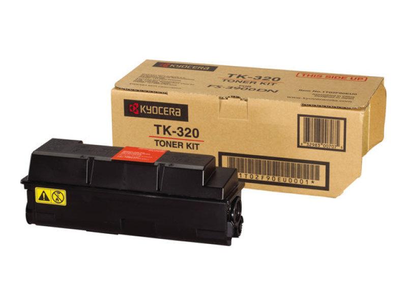 Kyocera Fs4000 Toner Cart Black Tk320