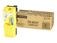Kyocera Yellow TK-820Y Toner Cartridge