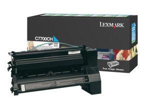 Lexmark C770 Hy Toner Cyan 00c7700ch
